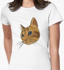 Cat (Hubert) Women's Fitted T-Shirt