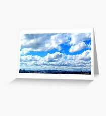 Clouds etc.  Greeting Card
