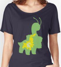 PKMN Silhouette - Chikorita Family Women's Relaxed Fit T-Shirt