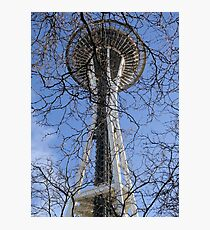 Space Needle Study 1  Photographic Print