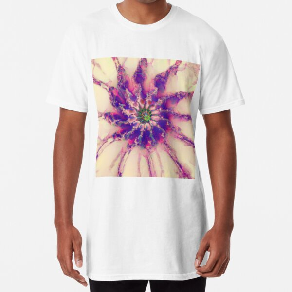 Fractalize abstraction Long T-Shirt