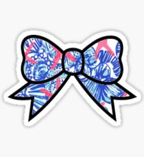 Lilly Pulitzer Bow Sticker
