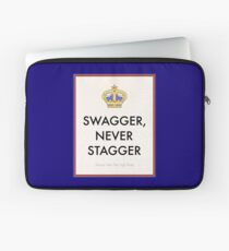 Swagger Never Stagger Laptop Sleeve