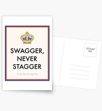 Swagger Never Stagger Postcards