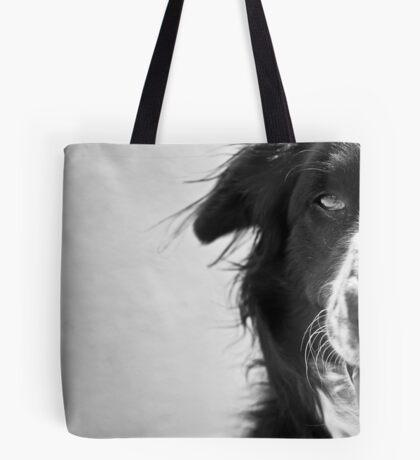 Half the dog Tote Bag