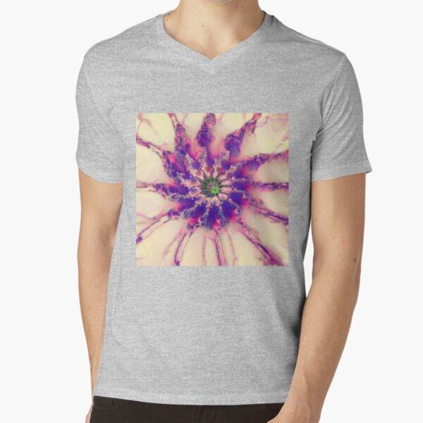 Fractalize abstraction V-Neck T-Shirt