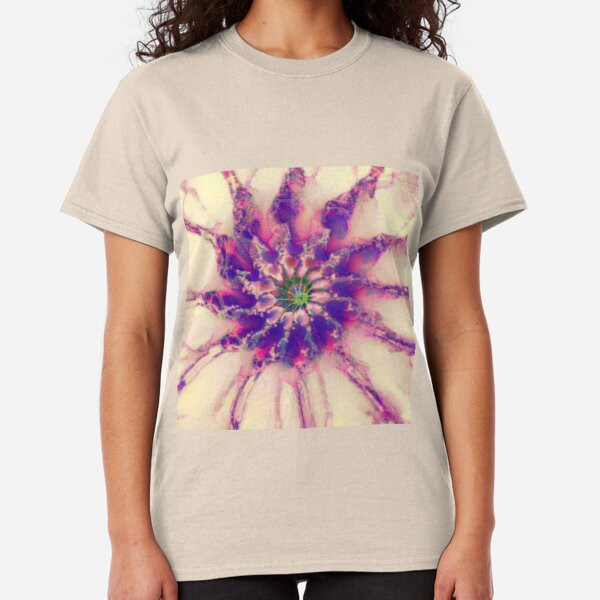 Fractalize abstraction Classic T-Shirt