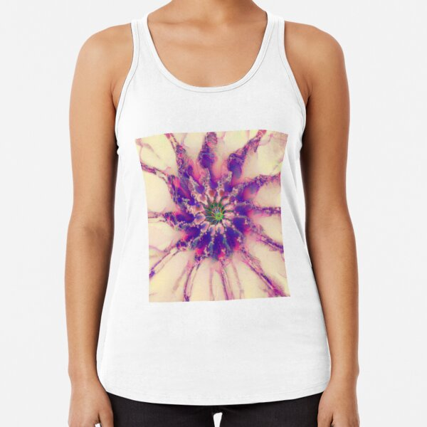 Fractalize abstraction Racerback Tank Top