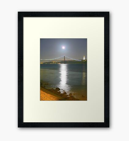 Moonlight. Framed Print