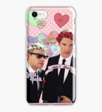 Sassy Cumberbatch and Freeman iPhone Case/Skin
