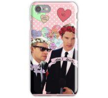 Sassy Cumberbatch and Freeman iPhone Case/Skin