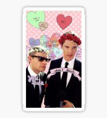 Sassy Cumberbatch and Freeman Sticker