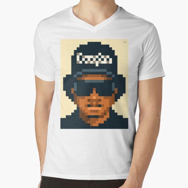His attitude V-Neck T-Shirt