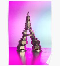 Pink Eiffel Poster