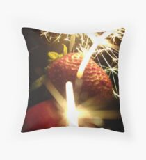 Of nature and the atomic. Throw Pillow