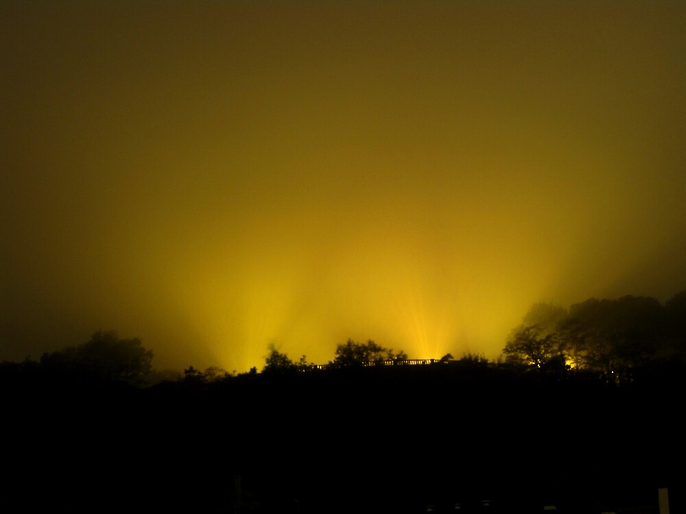 Mount royal observatory in lights by AndreCosto