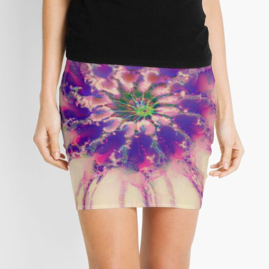 Fractalize abstraction Mini Skirt