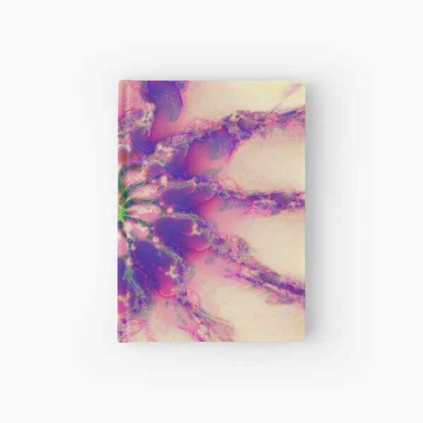 Fractalize abstraction Hardcover Journal