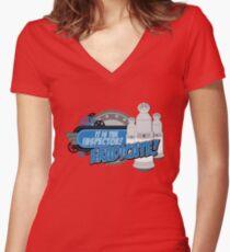 Blorgons - ERADICATE!!! Women's Fitted V-Neck T-Shirt
