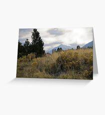 eagle cap landscape 2 Greeting Card