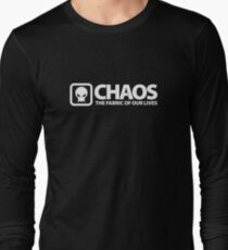 Chaos: The Fabric of Our Lives Long Sleeve T-Shirt