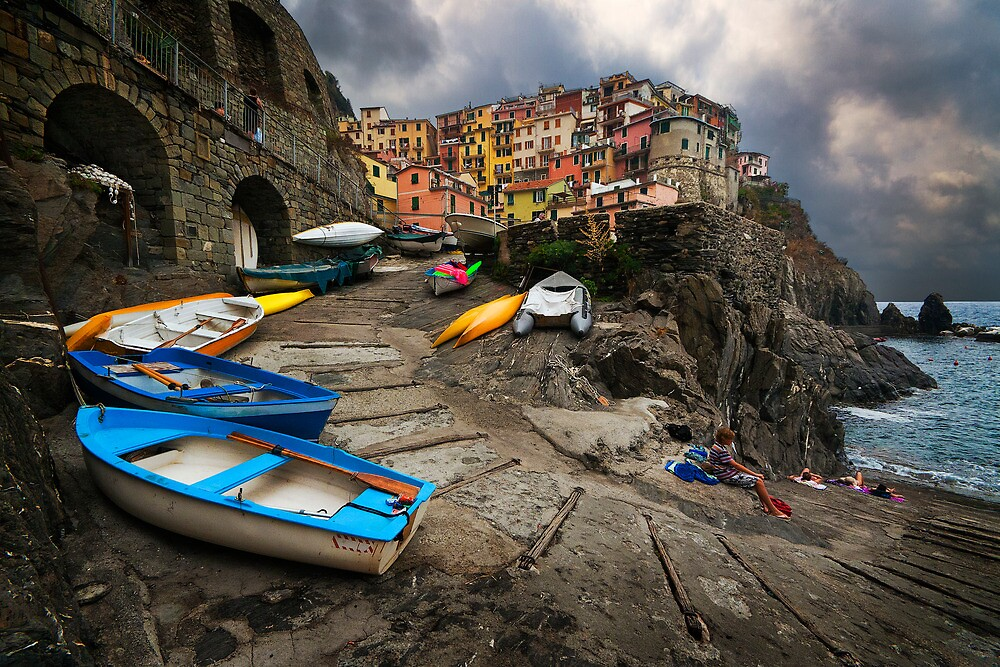 Row Boats. by DaveBassett