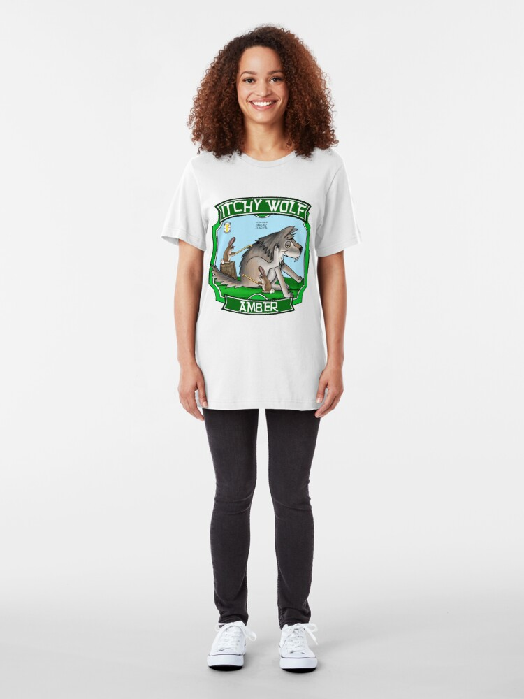 Alternate view of Itchy Wolf Amber Slim Fit T-Shirt