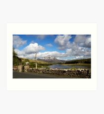 Mount Errigal Art Print