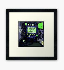 CPU Heaven Colour Framed Print