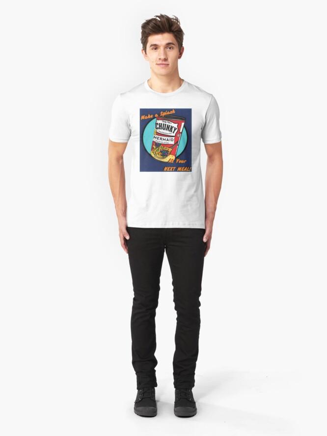Alternate view of Mermaid Soup Slim Fit T-Shirt