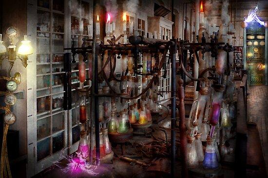 Mad Scientist - Essence of life machine by Michael Savad