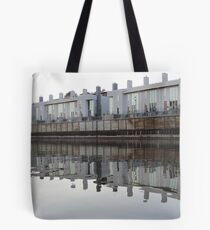 Architecture on the Milwaukee River Tote Bag