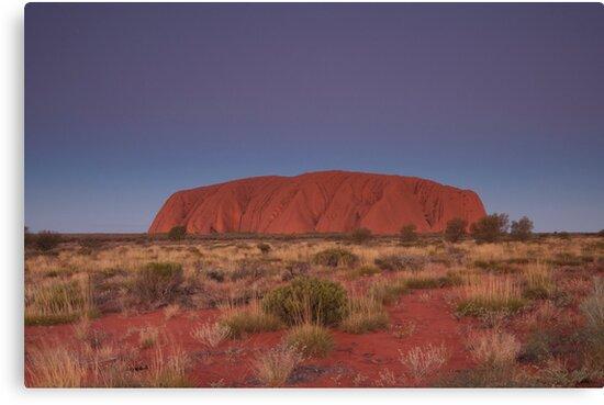 Uluru by Ryan Hasselbach