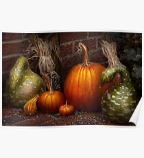 Autumn - Gourd - Family get together Poster