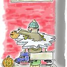 Ice Road Trucker Halloween Costume by weirdpuckett