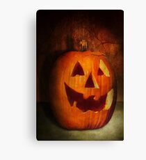 Autumn - Halloween - Jack-o-Lantern  Canvas Print