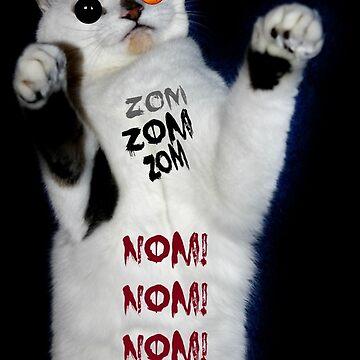 ZOM ZOM ZOM NOM NOM NOM by Ladymoose