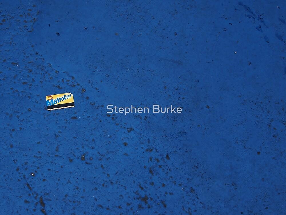 Lost Metro Card by Stephen Burke