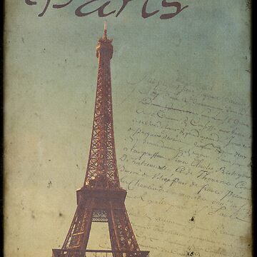 Sweet Eiffel Tower 1 by CalicoCollage