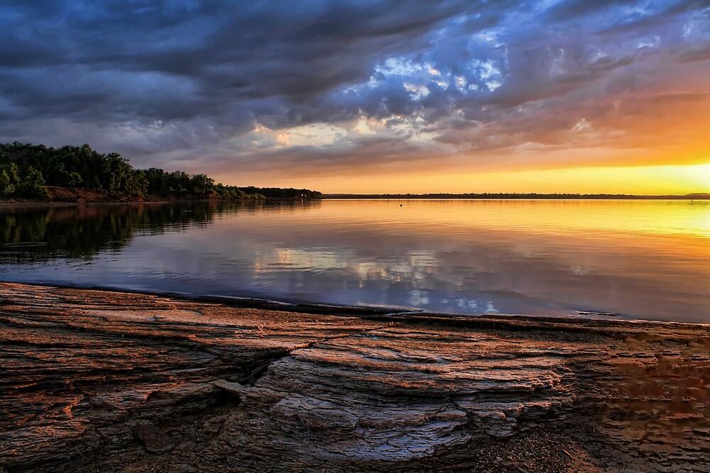 Local Color At Lake Eufaula by Carolyn  Fletcher