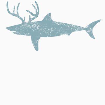 sharkalope by waterslidepanda