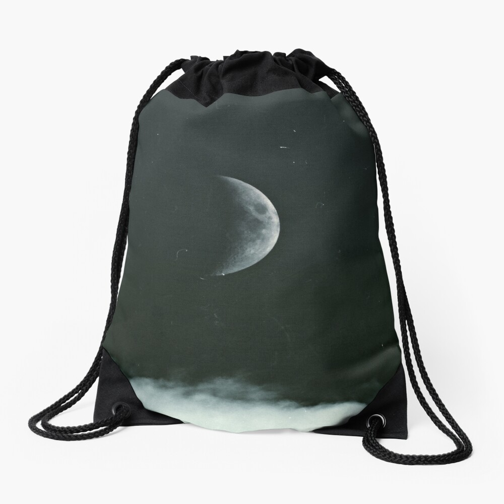 The Moon Drawstring Bag