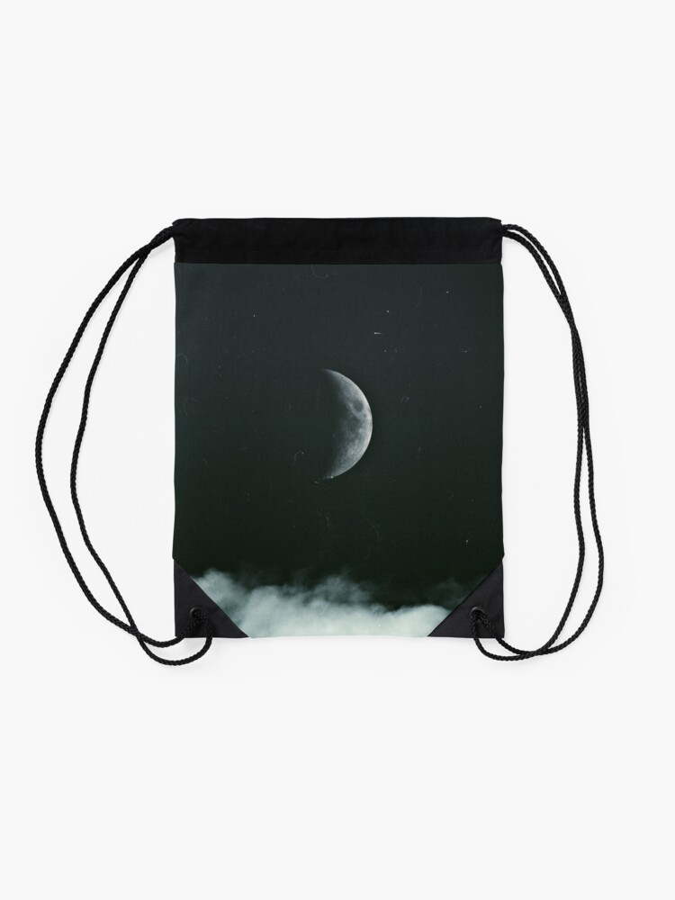 Alternate view of The Moon Drawstring Bag