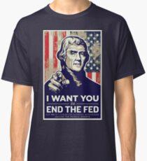 Thomas Jefferson End the Fed Classic T-Shirt