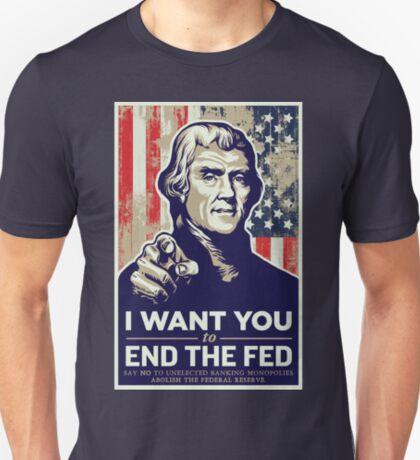 Thomas Jefferson End the Fed T-Shirt