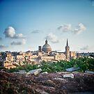 Valletta in the background by Jakov Cordina