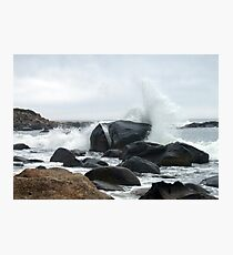 Spray Rock, Weekapaug, RI 2 Photographic Print