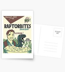 RAPTORBITES JURASSIC BERRY Postcards