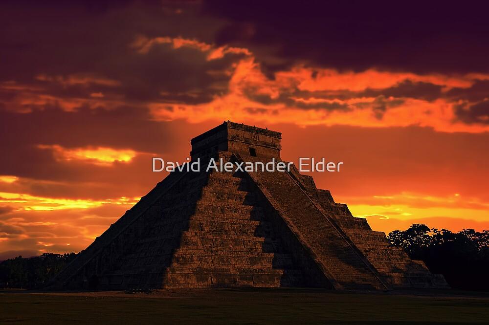 Mystical Mayan by David Alexander Elder