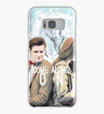 Amelia and Her Doctor Samsung Galaxy Case/Skin